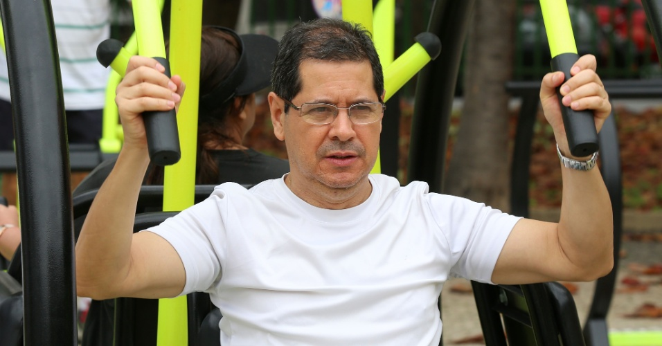 24.set.2015 - O professor Luiz Antônio, gaúcho de Santa Maria e residente no bairro há 25 anos, afirmou que os arrastões da década de 90 eram mais concentrados.