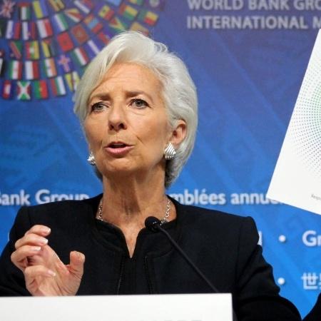Christine Lagarde, diretora do Fundo Monetário Internacional (FMI) - Xinhua
