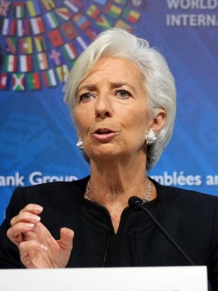 Christine Lagarde, diretora do FMI - Xinhua
