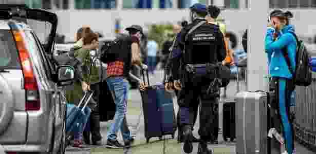Segurança no Aeroporto Internacional de Schiphol, na Holanda, é reforçada - Remko de Waal/ ANP/ AFP