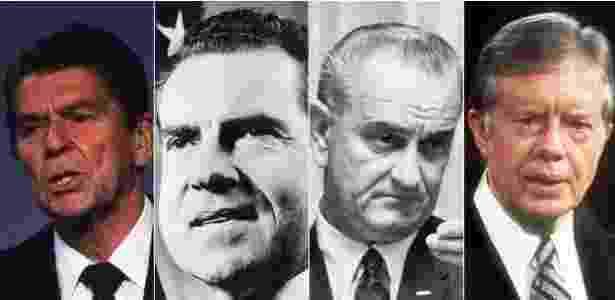 todos os presidentes do homem - Getty Images - Getty Images