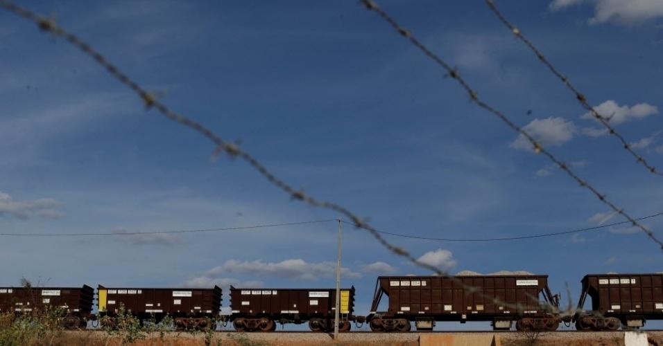 Ferrovia Transnordestina - especial Reuters