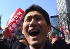 As reações dos sul-coreanos à aprovação do impeachment da presidente Park Geun-hye - Jung Yeon-Je/AFP Photo