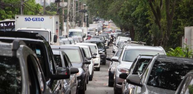 São Paulo bate recorde de congestionamento no ano pela manhã - Uriel Punk/Futura Press/Estadão Conteúdo