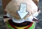 Candidata aposta em currículo em forma de hambúrguer e criatividade agrada - Arquivo pessoal