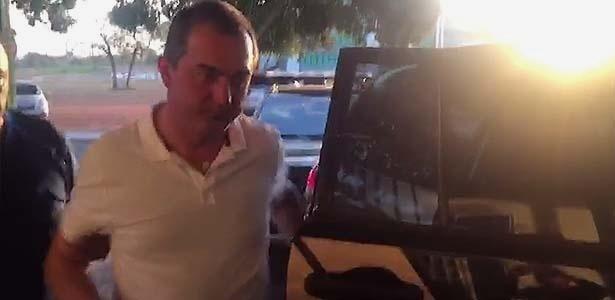 11.set.2017 - Joesley Batista chega ao IML de Brasília para fazer exame de corpo de delito