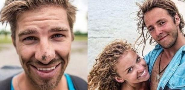 Ryker Gamble (à esq), Megan Scraper e Alexey Lyakh (à dir) visitavam locais exóticos e postavam vídeos em canal de viagens online