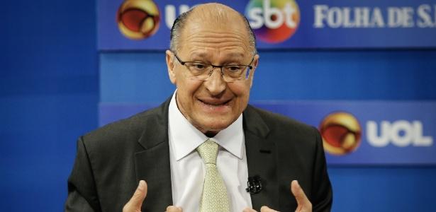 Geraldo Alckmin, candidato do PSDB à Presidência, participa de sabatina no UOL