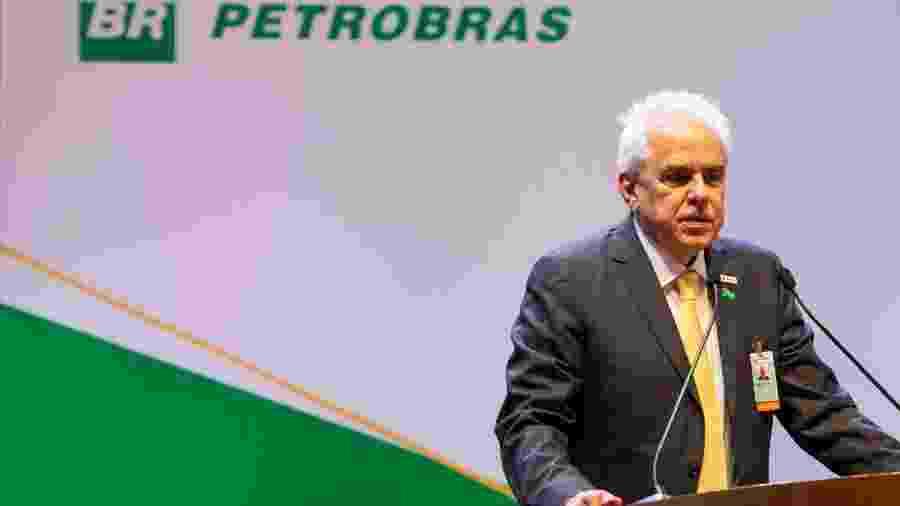 Roberto Castello Branco, na cerimônia de posse como presidente da Petrobras - Allan Carvalho/Futura Press/Estadão Conteúdo