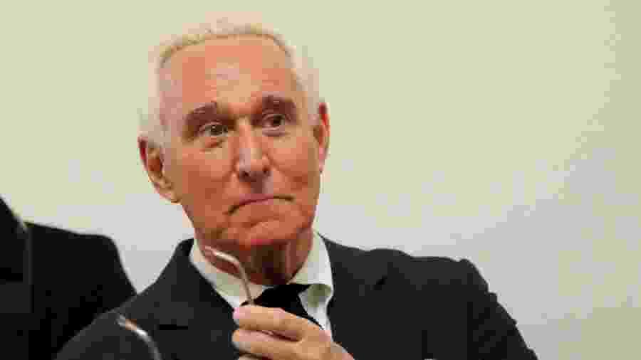 11.dez.2018 - Roger Stone, ex-assessor do presidente dos Estados Unidos Donald Trump, foi indiciado e preso, na última sexta-feira (25) - Jim Young/Reuters