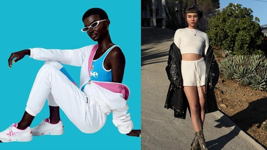 Shudu Gram e Lil Miquela somam juntas mais de 1,6 milhão de seguidores - Reprodução