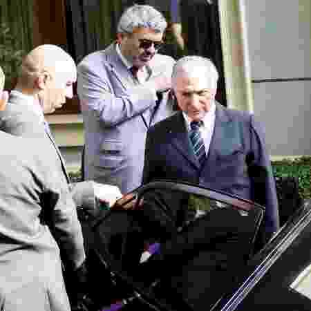 9.mai.2019 - O ex-presidente Michel Temer (MDB) - Aloisio Mauricio/Foto Arena/Estadão Conteúdo