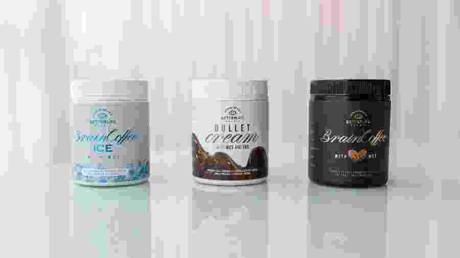 Brain Coffee Ice, Bullet Cream e Brain Coffee são produtos da empresa Betterlifebr - Divulgação