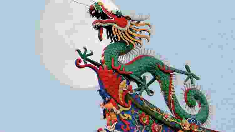Chineses acreditavam que dragão estava envolvido com eclipse - iStock