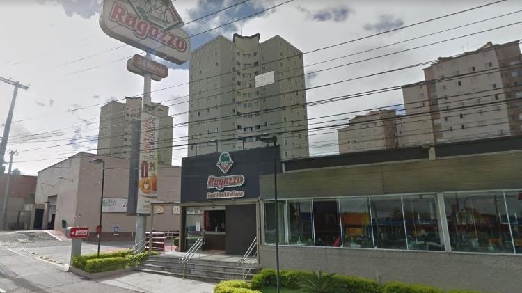 Unidade do Ragazzo em Santo André onde ocorreu a confusão - Google Street View