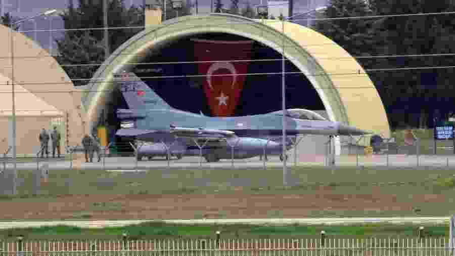 A base aérea de Incirlik é operada conjuntamente pelos EUA e Turquia - Getty Images