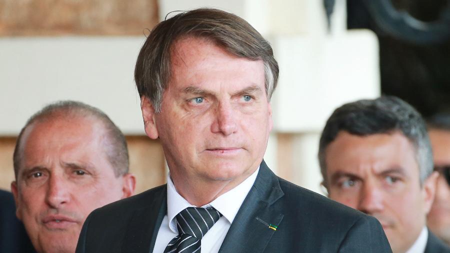 Bolsonaro na Cúpula do Mercosul em Bento Gonçalves (RS) - Diego Vara/Reuters