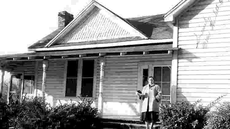 A casa onde viviam os Hodges, em Sylacauga, no Alabama, atraiu muita atenção na época - UNIVERSITY OF ALABAMA MUSEUMS, TUSCALOOSA, ALABAM - UNIVERSITY OF ALABAMA MUSEUMS, TUSCALOOSA, ALABAM