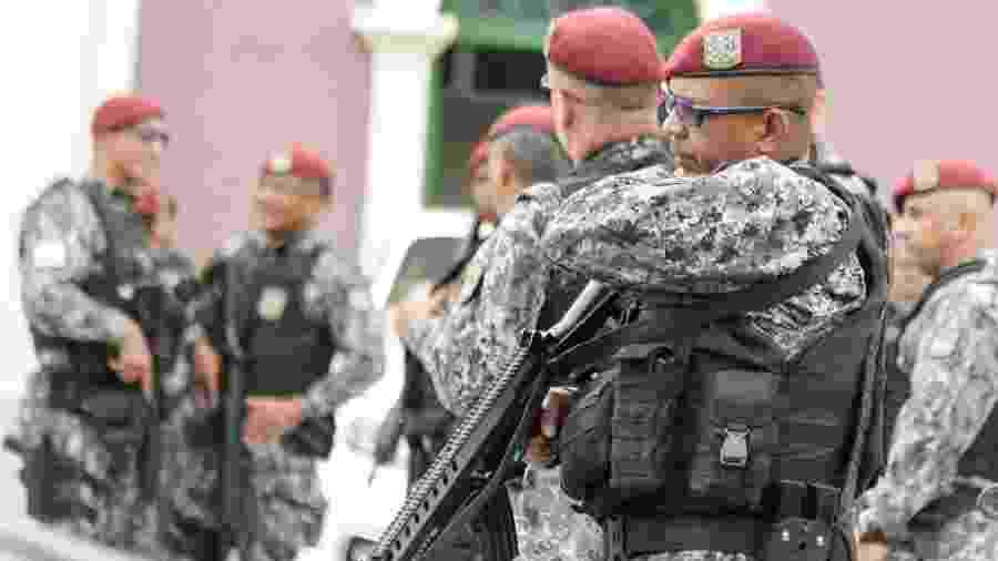 Exército e Força Nacional patrulham Fortaleza - JOÃO DIJORGE/PHOTOPRESS/ESTADÃO CONTEÚDO