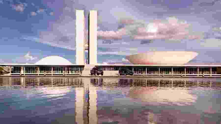 Congresso Nacional, em Brasília, durante pandemia do novo coronavírus - Andressa Anholete/Getty Images