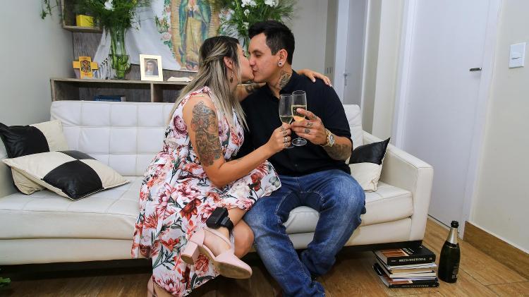 Sara Winter, em prisão domiciliar, fica noiva de Giovane Rodrigues, em Brasília - WALLACE MARTINS/FUTURA PRESS/ESTADÃO CONTEÚDO - WALLACE MARTINS/FUTURA PRESS/ESTADÃO CONTEÚDO