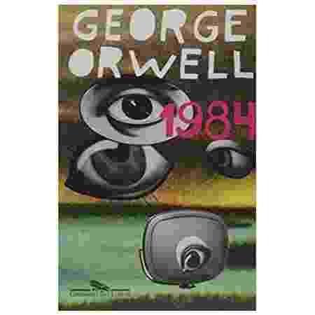 6º - 1984 (George Owell) - Companhia das Letras - Reprodução/Amazon - Reprodução/Amazon