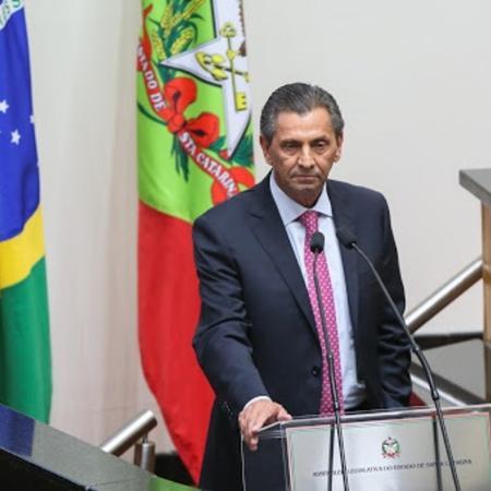 Presidente da Alesc ficará em prisão domiciliar - Reprodução/Alesc