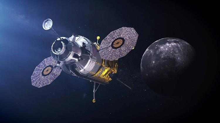Taxi to luna station? HLS to bring astronauts from the Moon's orbit to the surface - NASA - NASA