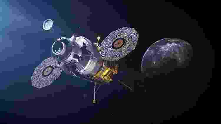Táxi para estação luna? HLS vai levar astronautas da órbita da Lua para a superfície - Nasa - Nasa