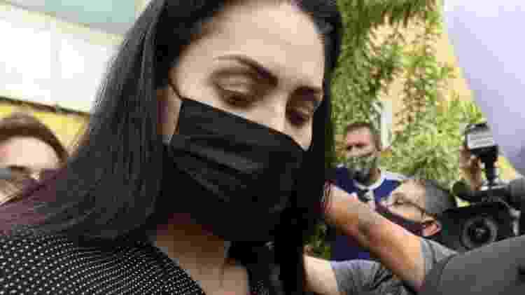 Monique Medeiros (foto), mãe de Henry, deve prestar novo depoimento em breve - Tania Rego/Agência Brasil - Tania Rego/Agência Brasil