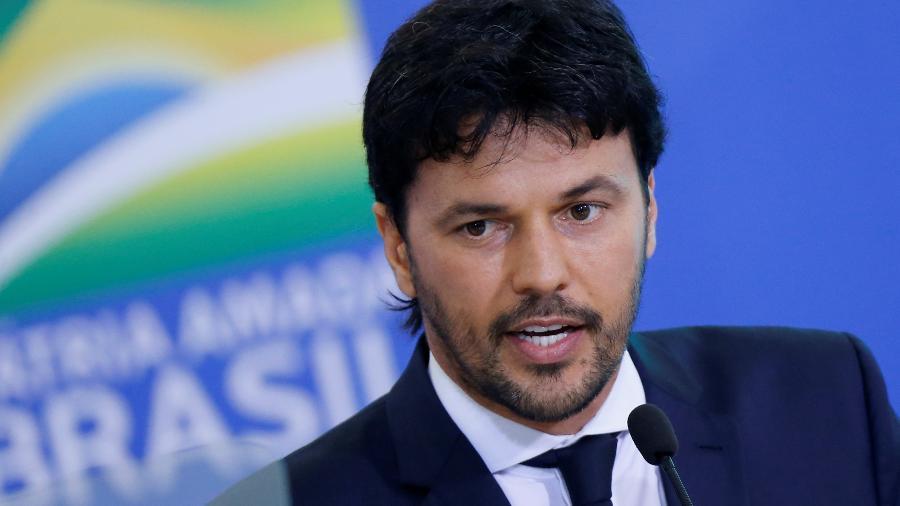 Ministro das Comunicações, Fábio Faria; programa do governo exibe vídeo de propaganda a cada acesso de internet  - Adriano Machado/Reuters
