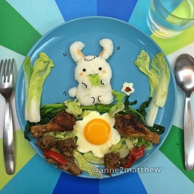 17.set.2015 - Anne Widya é uma criativa cozinheira de Hong Kong que faz arte com comida e posta em seu perfil no Instagram (@anne2matthew). Além de dar água na boca, faz bem aos olhos