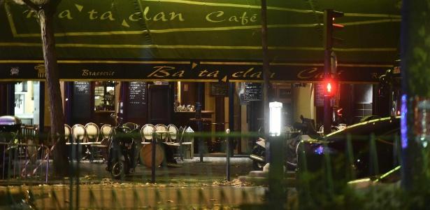 Bataclan, em Paris, onde 90 pessoas foram mortas em ataque terrorista em 2015