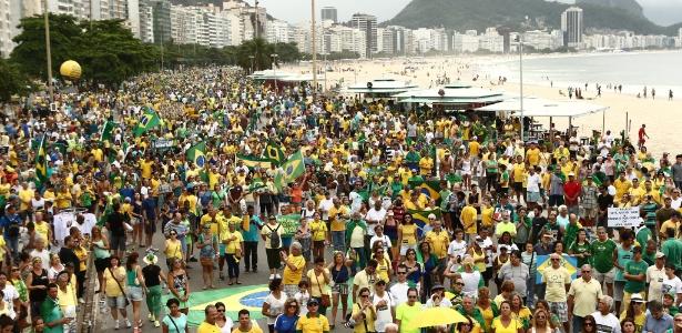 Veja o número de participantes nos protestos contra Dilma, segundo as PMs - Wilton Júnior/Estadão Conteúdo