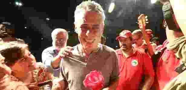 Chico Buarque participou do ato pela democracia e contra o impeachment no Rio - Wilton Júnior / Estadão Conteúdo - Wilton Júnior / Estadão Conteúdo