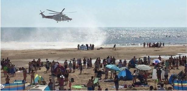 Ambulâncias aéreas foram acionadas para atender as vítimas