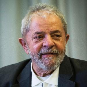 O ex-presidente Lula em encontro do PT em setembro