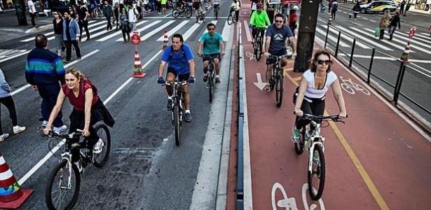 A avenida Paulista é também uma das vias com movimento mais intenso da região central da cidade