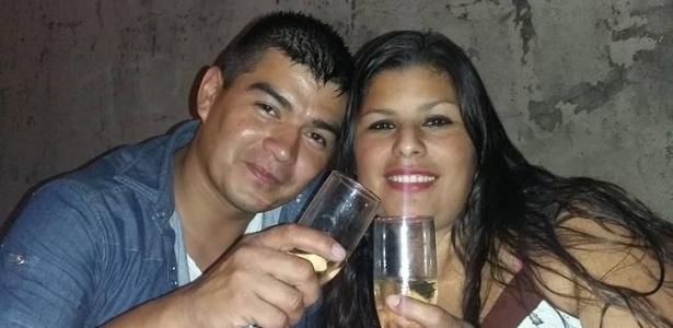Diego Loscalzo (esq) matou a mulher, Romina Maguna, e cinco parentes, na cidade de Hurlingham, na província de Buenos Aires (Argentina)