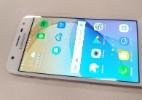 Celular baratinho da Samsung, J5 Prime acerta no custo-benefício (Foto: Márcio Padrão/UOL)