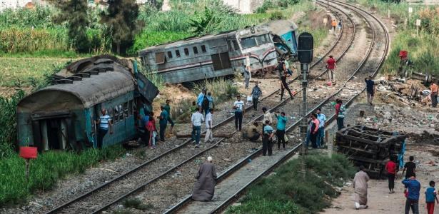 O acidente aconteceu na área de Jorshed, perto da estação ferroviária do município de Abis, vizinho a Alexandria
