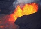 O que são as 'bombas de lava' como a do vulcão Kilauea que feriu 23 pessoas em um barco no Havaí (Foto: Reuters)
