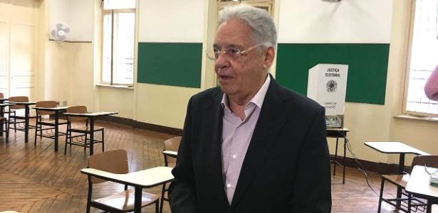 FHC diz que ainda não há condição para pedir impeachment de Bolsonaro - Guilherme Mazieiro/UOL