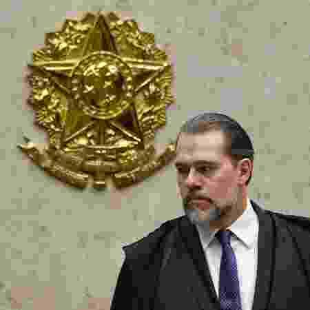 14.fev.2019 - O presidente do STF, Dias Toffoli - MATEUS BONOMI/AGIF/ESTADÃO CONTEÚDO