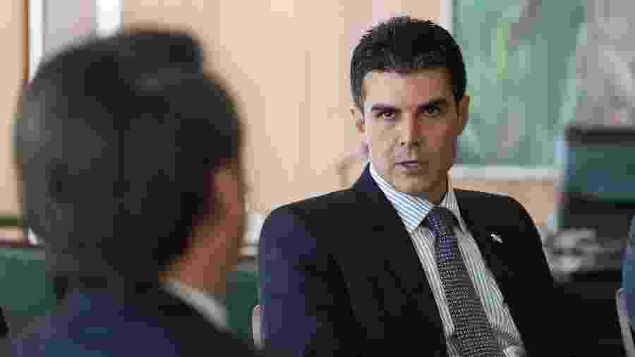 10.abr.2019 - O governador do Pará, Helder Barbalho -  Marcos Corrêa/PR