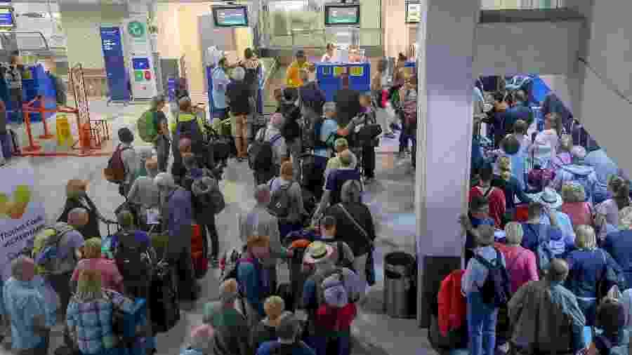 O Sleeper Seat está disponível em voos de longa distância da Thomas Cook Airlines - Stefanos Rapanis/Reuters