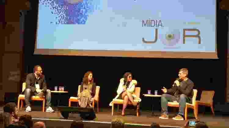 Evento em São Paulo debateu impactos da inteligência artificial no jornalismo - Gabriel Francisco Ribeiro/UOL - Gabriel Francisco Ribeiro/UOL