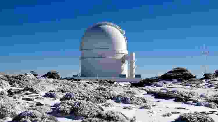 A estrela foi descoberta usando o observatório Calar Alto, na Espanha - Calar Alto Observatory