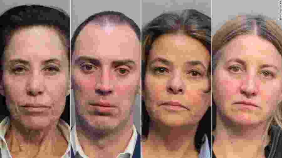 Quatro comissários de bordo da American Airlines foram presos  - Reprodução/CNN