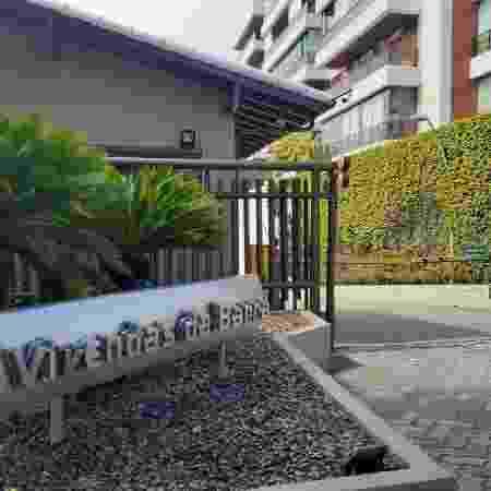 Portaria do condomíno Vivendas da Barra, onde morava Ronnie Lessa - Gabriel Sabóia/UOL